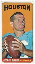1965 TOPPS FOOTBALL #69 GEORGE BLANDA SHORT-PRINT - VERY GOOD