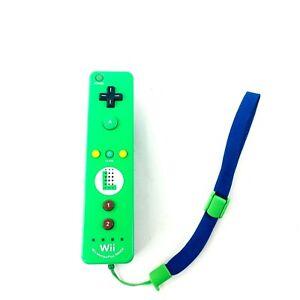 Luigi Edition Motion Plus Remote Controller NINTENDO WII / U OEM OFFICIAL GENUIN
