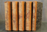 Livres reliés 19e Walter Scott 1830 Les puritains d'Ecosse Guy Mannering