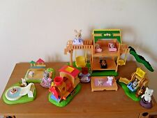sylvanian families large playground area,lots of accessories,figures