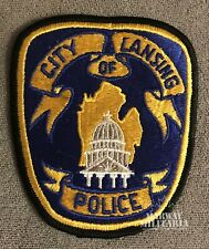 Early, CITY OF LANSING Michigan Police Patch (22381)