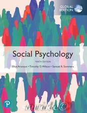 NEW 3 Days US Social Psychology 10E Elliot Aronson Wilson 10th Paperback Edition