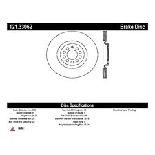 Centric Parts 121.33062 Front Disc Brake Rotor