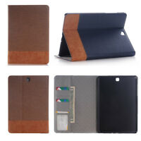 """Wallet Luxury Leather Case Cover For Samsung Tab A S2 S3 Tablet 7.0 8"""" 9.7 10.1"""""""