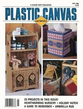 Plastic Canvas Corner Magazine ~ May 1996, 25 plastic canvas projects