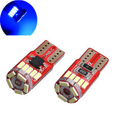 2 ampoules à LED 15  smd w5w  Plafonnier / feux de position  anti erreur  BLEU
