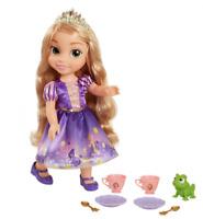 """NEW Disney Princess Toddler Playset Tea Time Set with 14"""" Rapunzel & Pascal"""