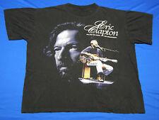 Eric Clapton The Man The Music The Memorabilia T-Shirt Black size 2XL no label