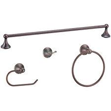 Designers Impressions Newport Oil Rubbed Bronze Bathroom Hardware Set