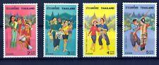 Thailand 1977 - Volkstänze - Trachten - Musikinstrumente - Tanz - Kostüme- Musik