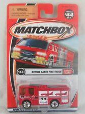 Matchbox Dennis Sabre Fire Truck #44 Airport Alarm