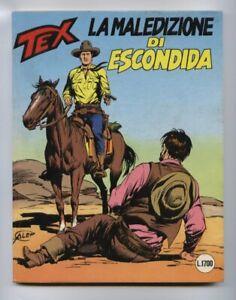 Tex 335 La Curse Di Escondida 1988