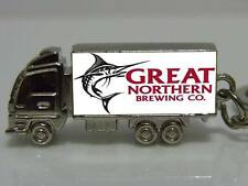 Great Northern Brewing Custom Zinc Alloy Truck Keyring