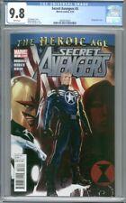 Secret Avengers #3  Djurdjevic Cover Nova The Heroic Age 1st Print CGC 9.8