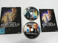 BABYLON A.D. 2 DVD STEELBOOK ENGLISH DEUTSCH - GERMAN EDITION VIN DIESEL - AM