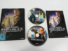 BABYLON A.D. 2 DVD STEELBOOK ENGLISH DEUTSCH - GERMAN EDITION VIN DIESEL