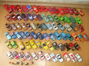 HUGE JOB LOT MICRO MACHINES 80+ SPORTS RACE CARS VANS PICKUP 4X4 FIGURES GALOOB
