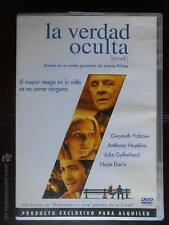 DVD LA VERDAD OCULTA (GWYNETH PALTROW, ANTHONY HOPKINS) - EDICION DE ALQUILER
