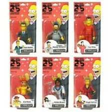 NECA The Simpsons 25th Anniversary Action Figures Complete Set Of 6 Brand New