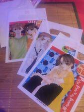 Lot Of 3 Bags! Gift~CD Bag Kawaii Cute! Japan Style Anime! Character Bonus Gift!