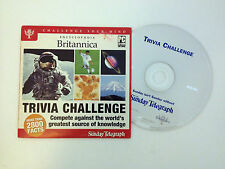 Trivia Challenge PC CD-ROM Software Encyclopedia Britannica More Than 2800 Facts
