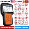 FOXWELL NT650 Elite OBD2 Diagnostic Scanner ABS Airbag SAS EPB Oil DPF TPMS TPS