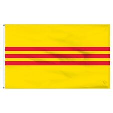 2x3 South Vietnam Flag 2'x3' House Banner Brass Grommets Super Polyester