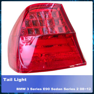 LH LHS Left Hand Tail Light Lamp LED Fits BMW 3 Series E90 Sedan Series 2 08~12