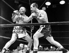 1953 World Heavyweight Boxing Rocky Marciano Ko's Joe Walcott 11x14 Photo Poster