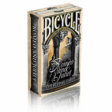 Montague vs Capulet: Romeo & Juliet Deck Bicycle Playing Cards Poker Size USPCC'