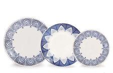 MILANO 18 Piece Ceramic Porcelain Dining Dinner Service Set Plates