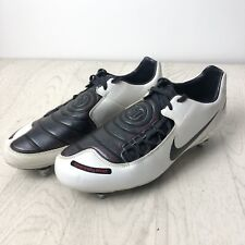 NIKE TOTAL NINETY T90 SHOOT FOOTBALL BOOTS SIZE UK 7  SG RARE Missing 1 stud