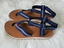 NEW TEVA Ankle Strap Thong Sport Sandals Blue Ombre Women's US Shoe Sz  5 M