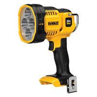 NEW DEWALT 1000-Lumens 20-V LED Spotlight Light Rechargeable-Battery Flashlight