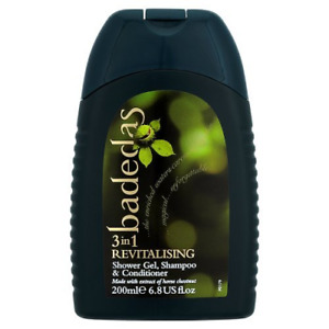 Badedas for Women Shower Gel Shampoo & Conditioner with Horse Chestnut Extract,