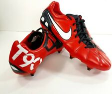 Nike T90 Laser III 3 SG Soft Ground Football Boots UK Size 9.5 Total 90 red