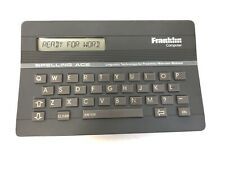 Franklin Computer Spelling Ace Linguistic Technology Merriam Webster Sa-98