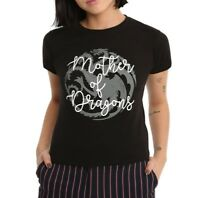 Game Of Thrones MOTHER OF DRAGONS Girls Women's T-Shirt NWT Licensed