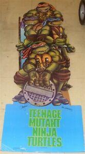 TEENAGE MUTANT NINJA TURTLES TMNT MOVIE DISPLAY STANDEE ST-77 STARMAKERS 1990
