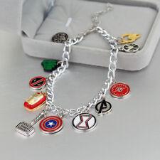 Unusual Eleven Charm Marvel  Avengers Bracelet