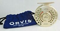 Orvis Battenkill Mid Arbor IV Gold w/soft bag loaded with line GT#127