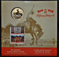 2012 Canada 25 cent Coin and Stamp Set  - Calgary Stampede