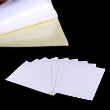 5sheets A4 White kraft paper stickers Self Adhesive Inkjet Laser printing P&T