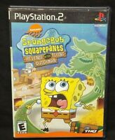 SpongeBob SquarePants: Revenge of PS2 Playstation 2 Game Tested Working Complete