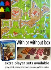 Carcassonne 2Inns and Cathedrals 5-6-7-8-9+ large meeples with or without box