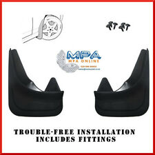 REAR MUDFLAPS FOR NISSAN PRIMERA MICRA ALMERA - MOULDED UNIVERSAL FIT
