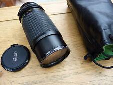 Sun Auto Zoom 80-200 mm 1:4 .5 montaje de la lente om