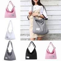 Women's Canvas Shoulder Bag Tote Bag Handbags Large Capacity Shoulder Bags