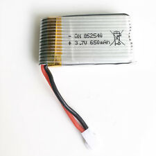 3.7V 25C 650mAh Lipo battery For Syma X5C X5 RC Quadcopter RC Drone Parts 852540