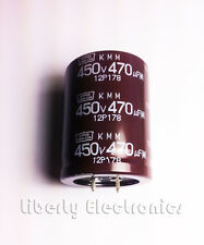 NEW 470 uF by 450V ELECTROLYTIC CAPACITOR 42x35mm